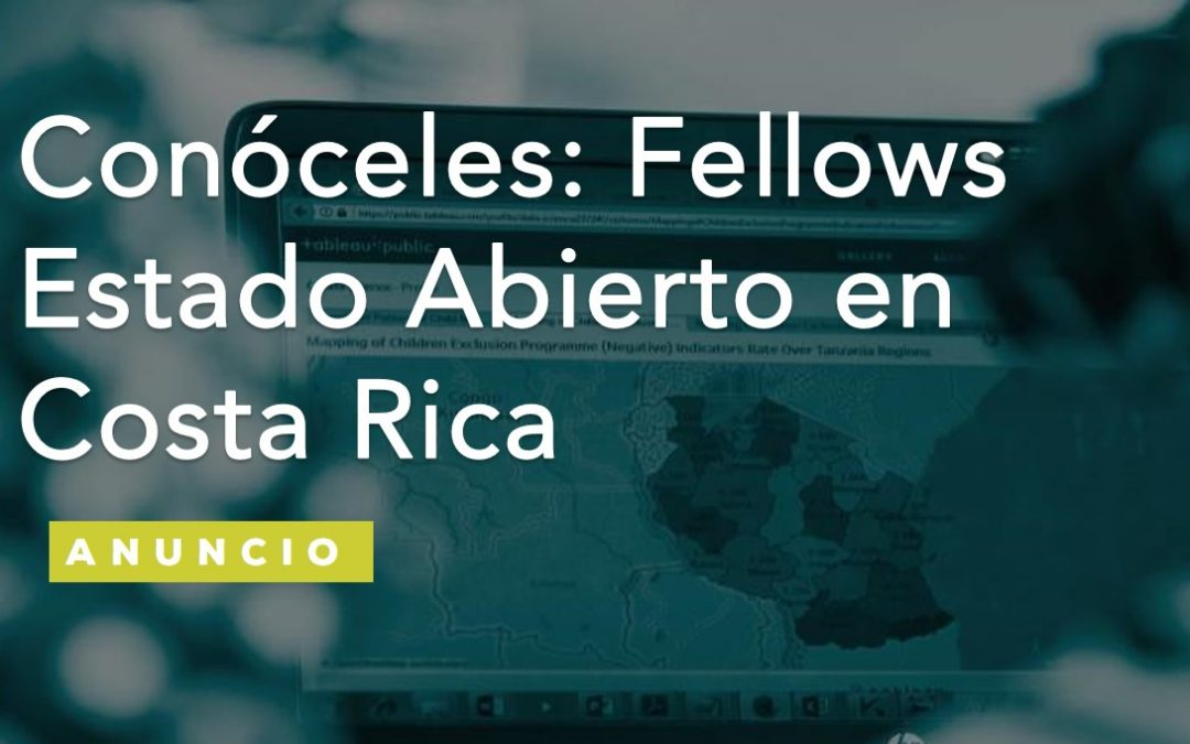 Fellows Estado Abierto en Costa Rica: Conóceles.