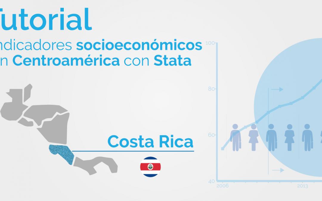 Una mirada a los indicadores de pobreza de Centroamérica utilizando Stata: Costa Rica