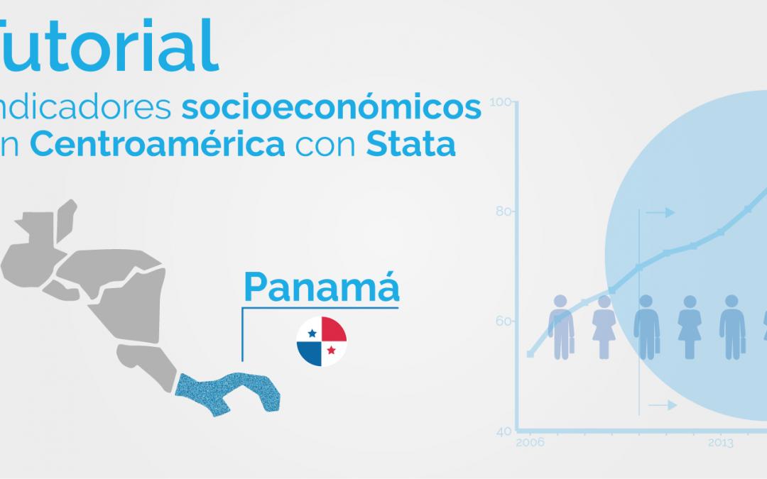 Una mirada a los indicadores de pobreza de Centroamérica utilizando Stata: Panamá