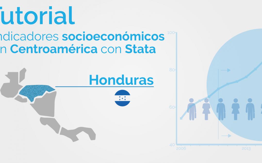 Una mirada a los indicadores de pobreza de Centroamérica utilizando Stata: Honduras