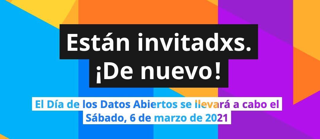 Agenda del #OpenDataDay 2021 en Latinoamérica